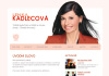 Lenka Kadlecová – webová prezentace